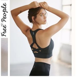 NWT Free People Lightning Synergy Crop